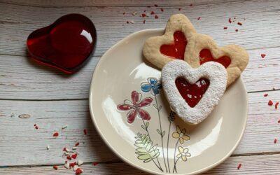 Gluten Free Vegan Linzer Tart Cookies