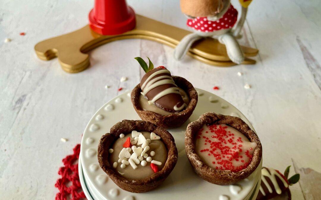Gluten Free Vegan Chocolate Raspberry Tartlets