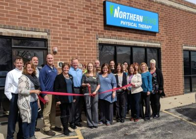 northern physical Thereapy ribbon cutting