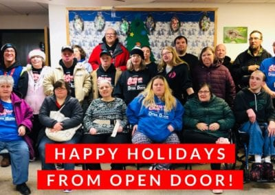 Happy Holidays from Open Door 2018