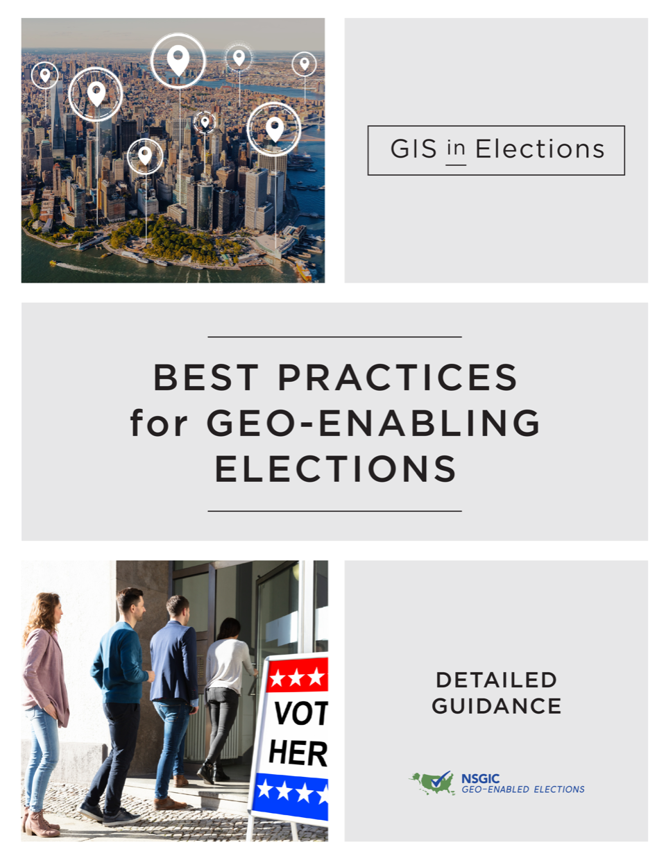 Best Practices for geo-enabled elections graphic