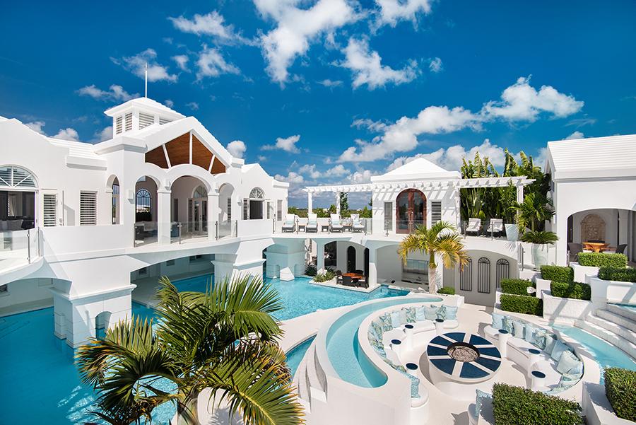 Mandalay Turks and Caicos Pool side