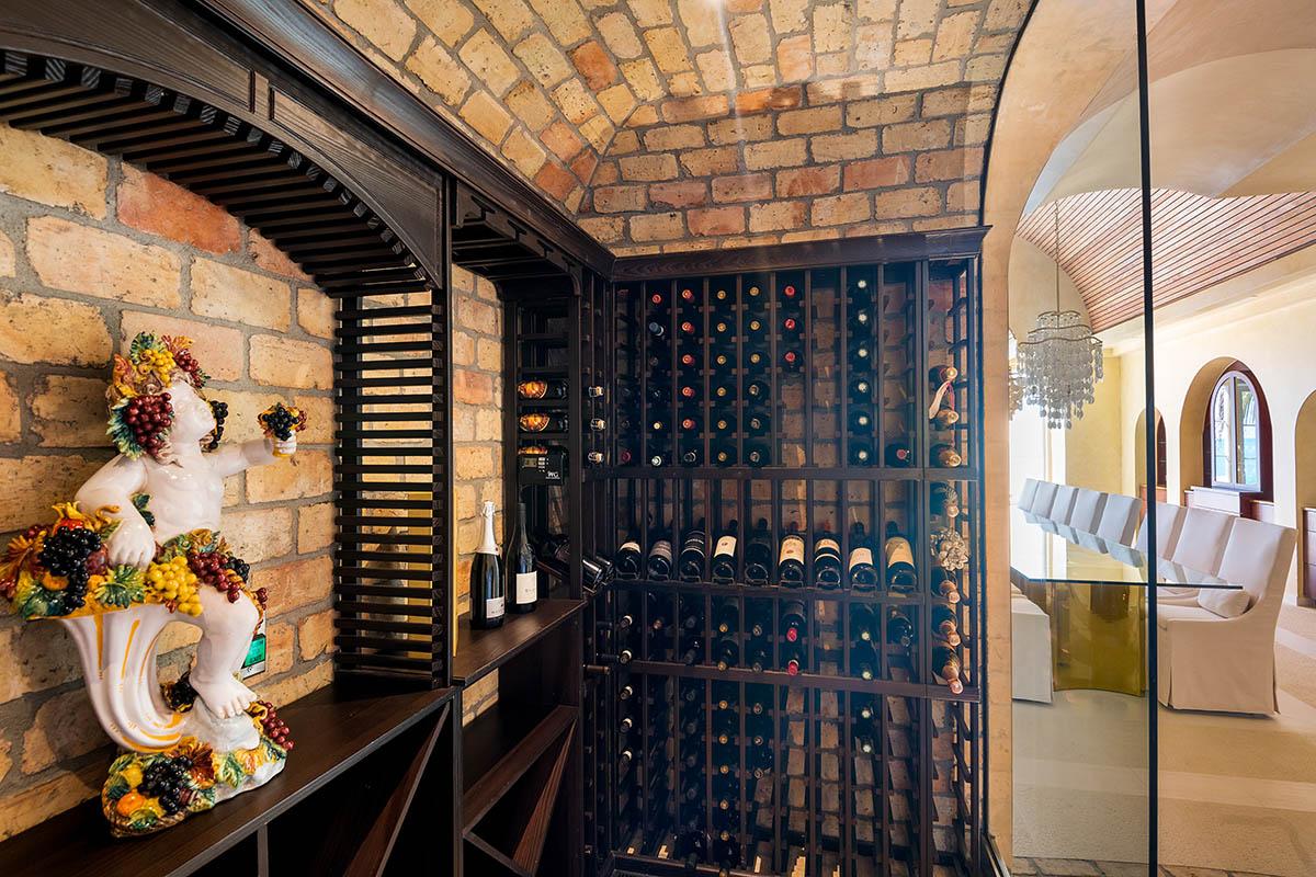 Mandalay Villa Turks and Caicos Wine Cellar