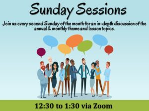 Sunday Sessions with Rev. Lawrence