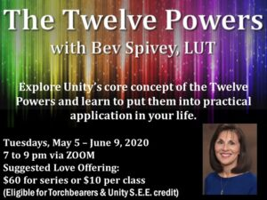 """The Twelve Powers"" with Bev Spivey, LUT"