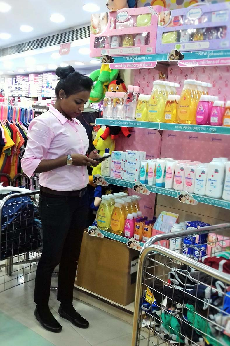 Mobile auditing for Reliance Retail