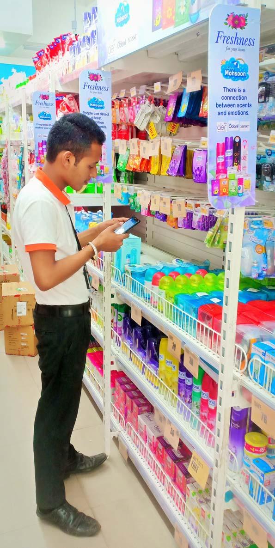 Big Bazaar store auditing at zirakpur