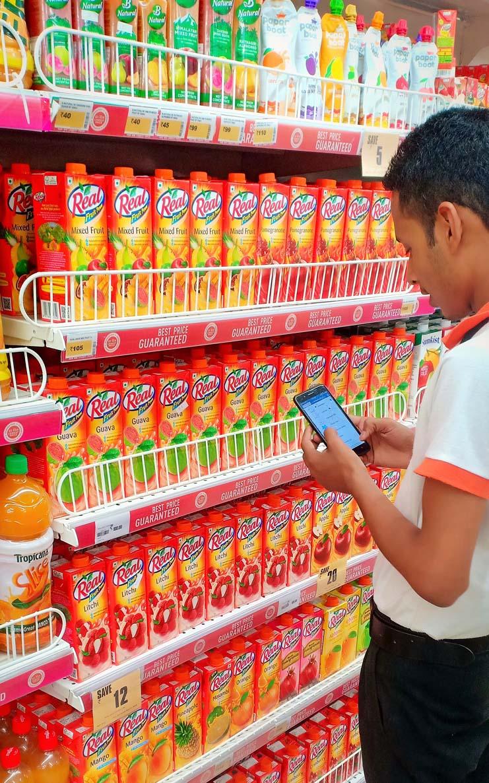 Big Bazaar retail merchandising at zirakpur