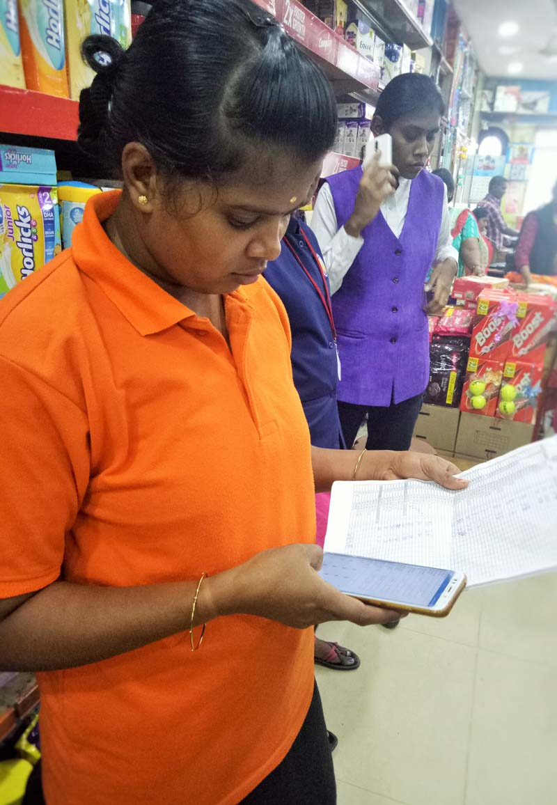 Retail Store Audit App