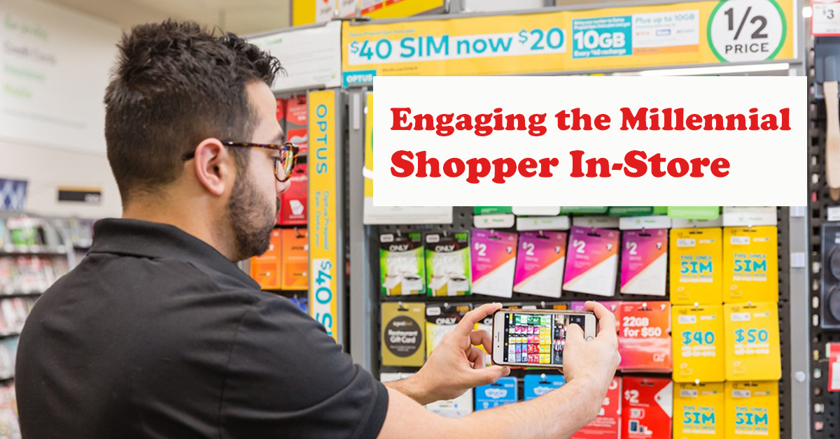 Engaging the Millennial Shopper In-Store