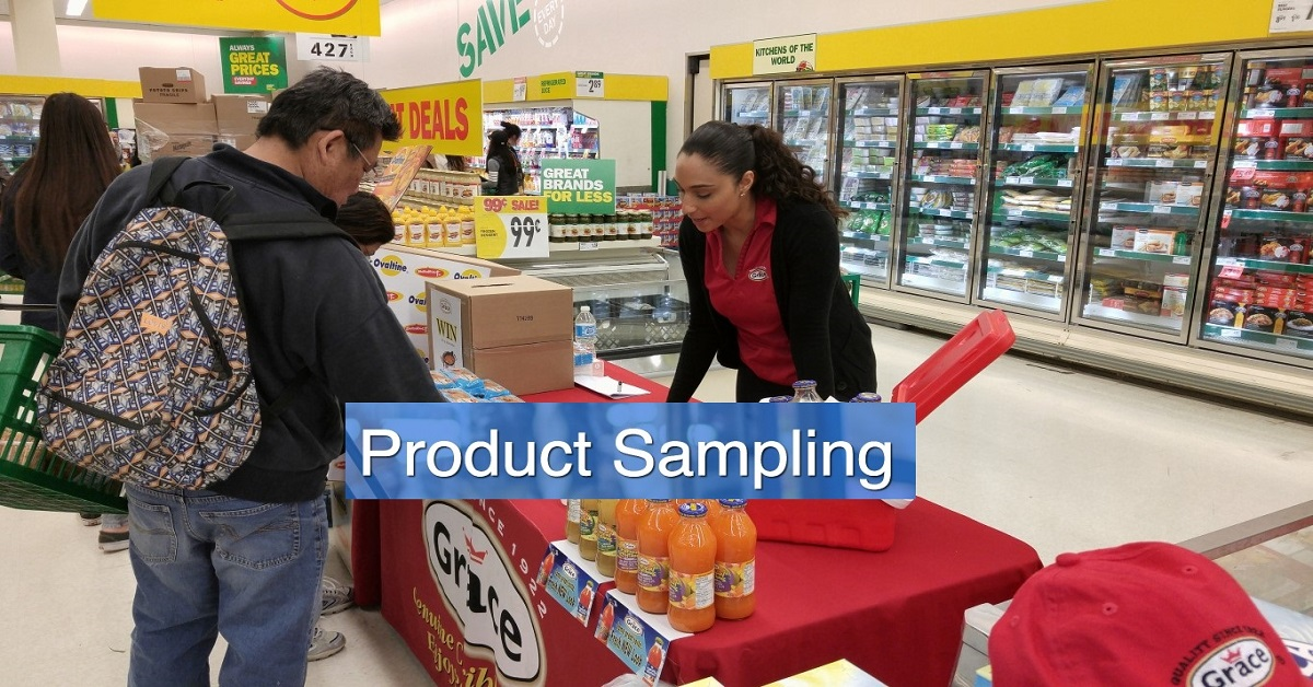Product Sampling:  How Effective Is Product Sampling? Eye-opening Research