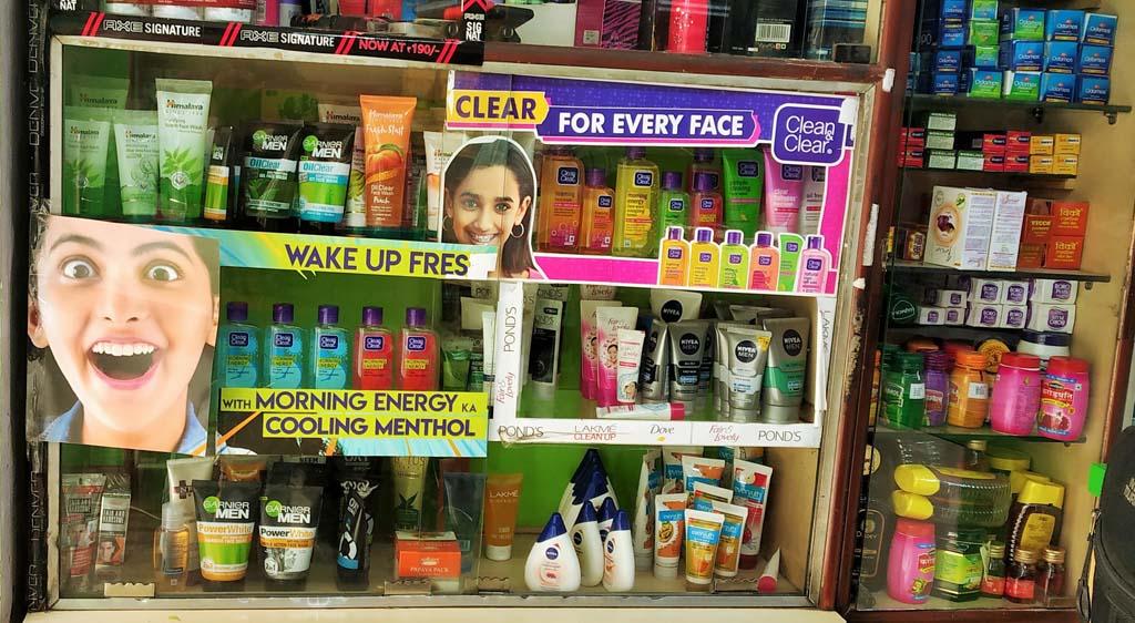 Garnier Men, Clean & Clear, Himalaya, Nivea Men Product Merchandising