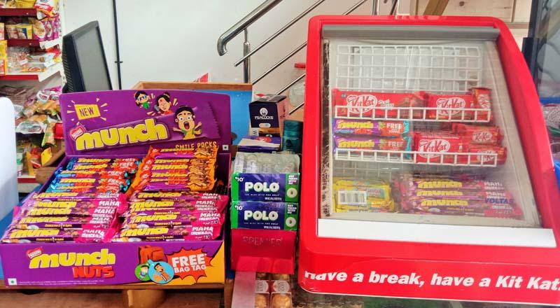 Kitkat Chocolate, Munch and Polo Retail Merchandising