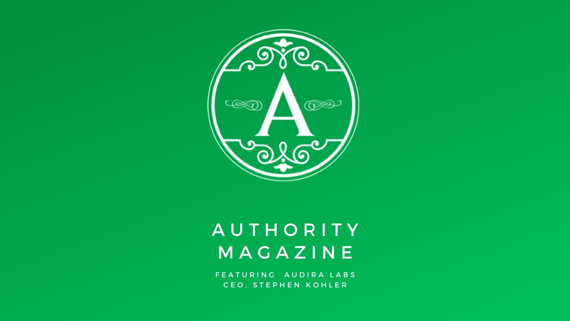 Authority Magazine Interviews Audira on Engagement