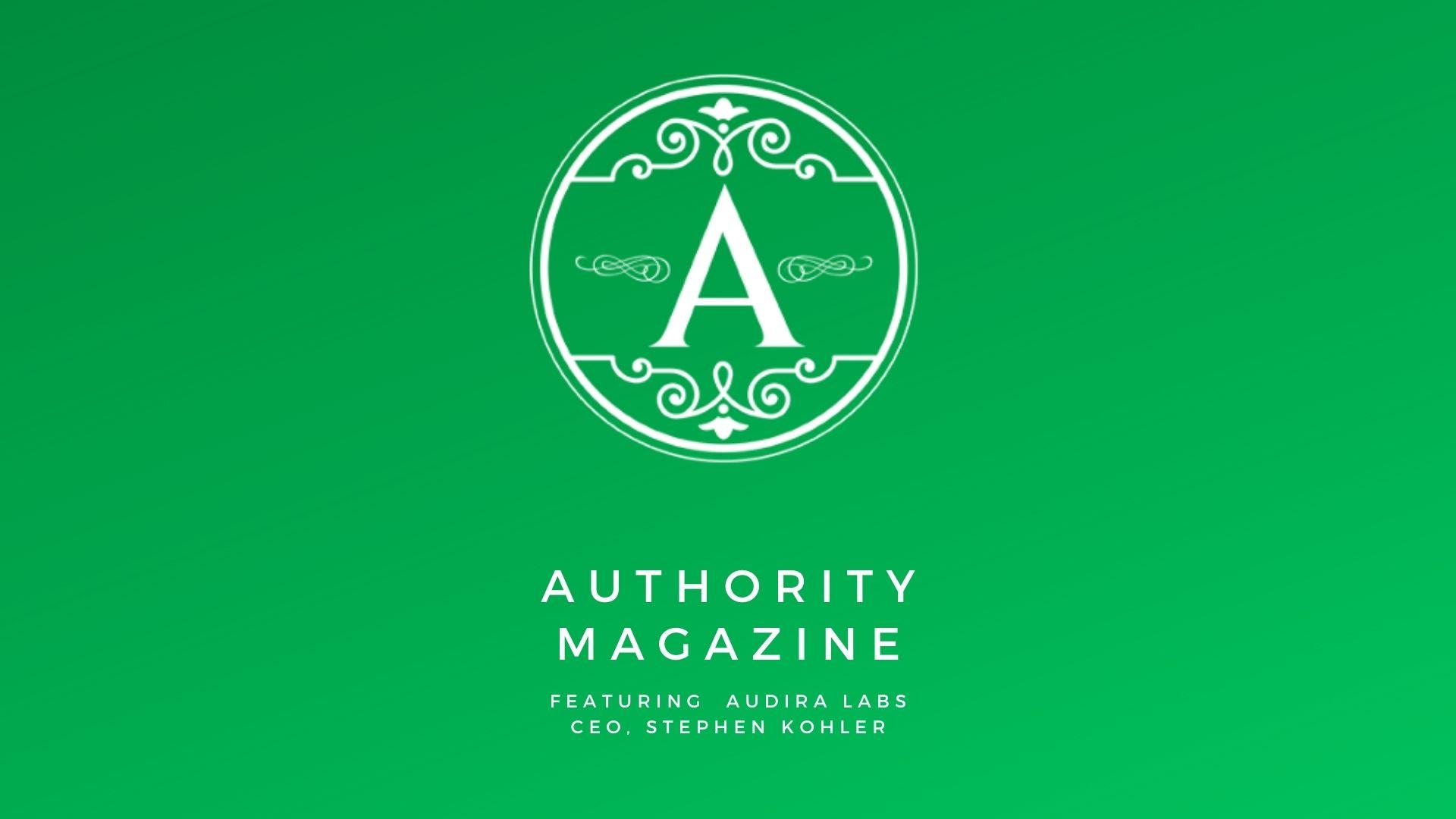 Authority Magazine Interviews Audira on Engagement