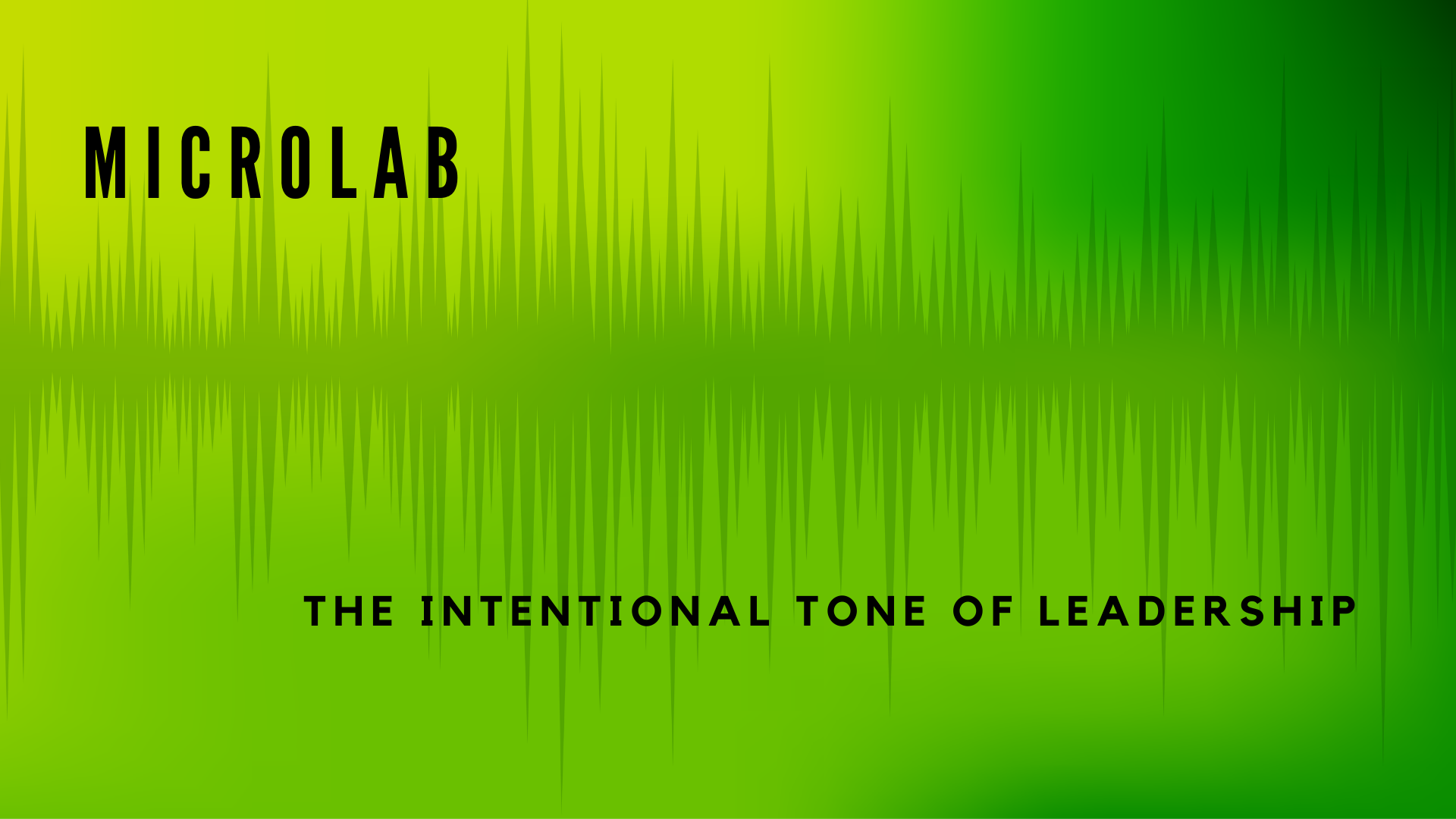 MicroLab: What Is Your Tone Saying?