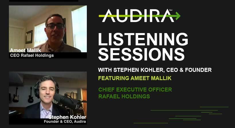audira listening sessions ameet mallik