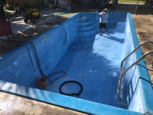 Our fiberglass and concrete pool experts are skilled in upgrading pool equipment.