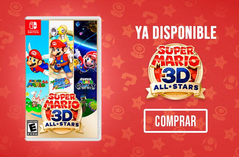 banner super mario 3d
