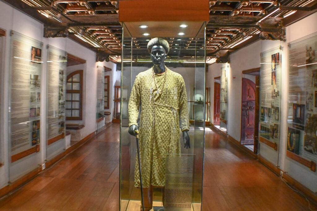 Exhibit Inside Dutch Palace, Kochi