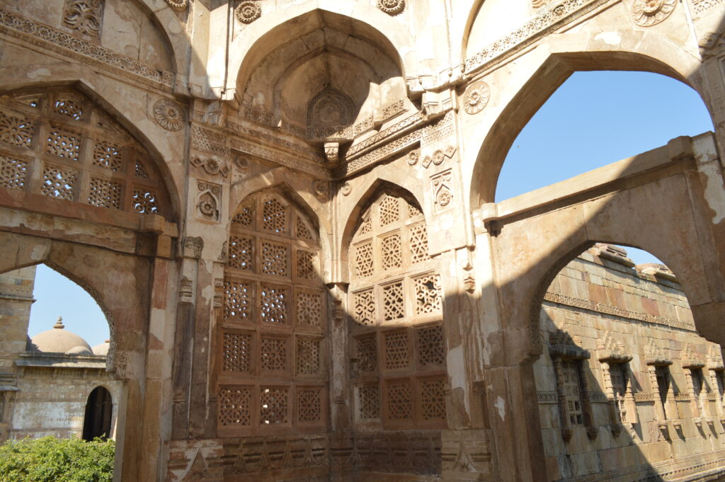 Intricately Carved East Entrance of Jami Masjid, Champaner Pavagadh