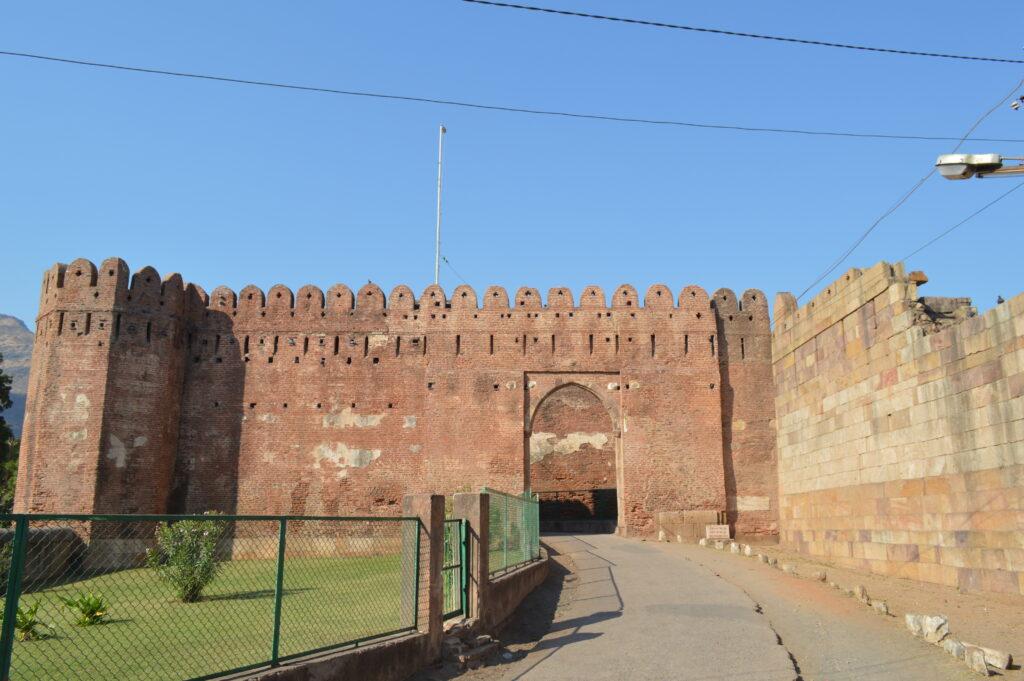 Ramparts of Champaner Fort