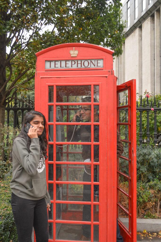 Red Telephone Booth, London @Rafiq Somani