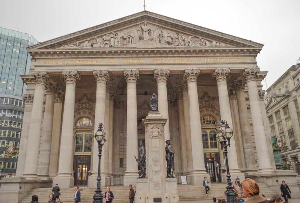 The Royal Exchange Building, London @Rafiq Somani