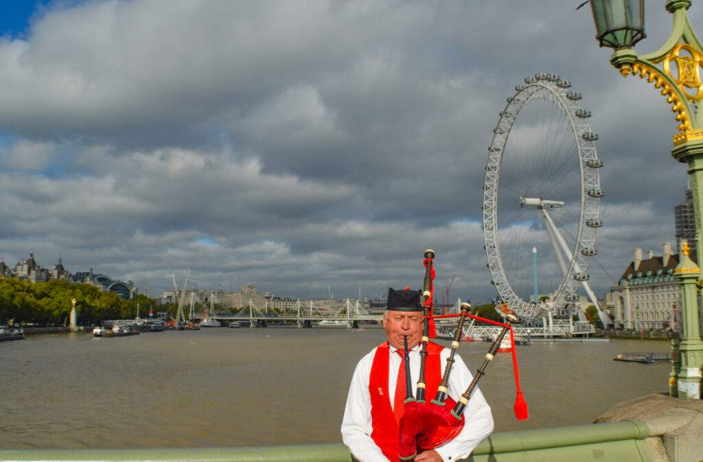 Bag Piper, London @Rafiq Somani