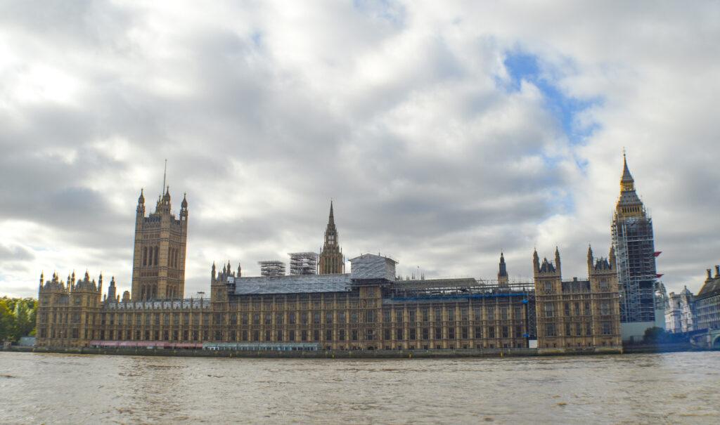 Houses of Parliament along Thames River, London @Rafiq Somani