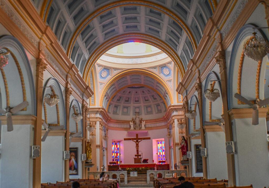Inside-Notre-Dames-des-Anges-Church-Pondicherry