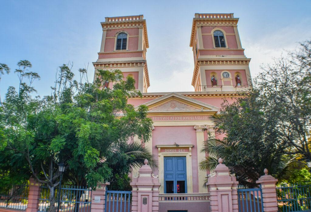 Notre-Dames-des-Anges-Church-Pondicherry