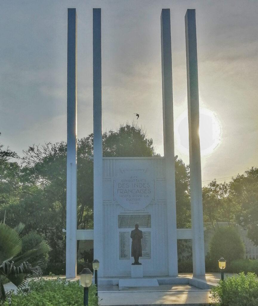 French-War-Memorial-Pondicherry