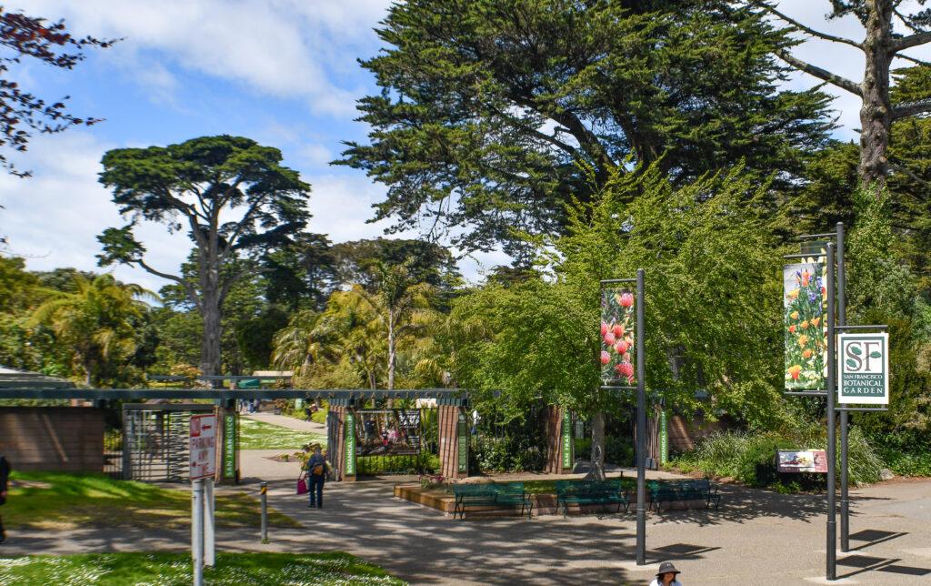 Botanical Garden, San Francisco
