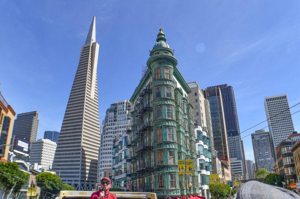 Transamerica Pyramid and Sentinel building, San Francisco