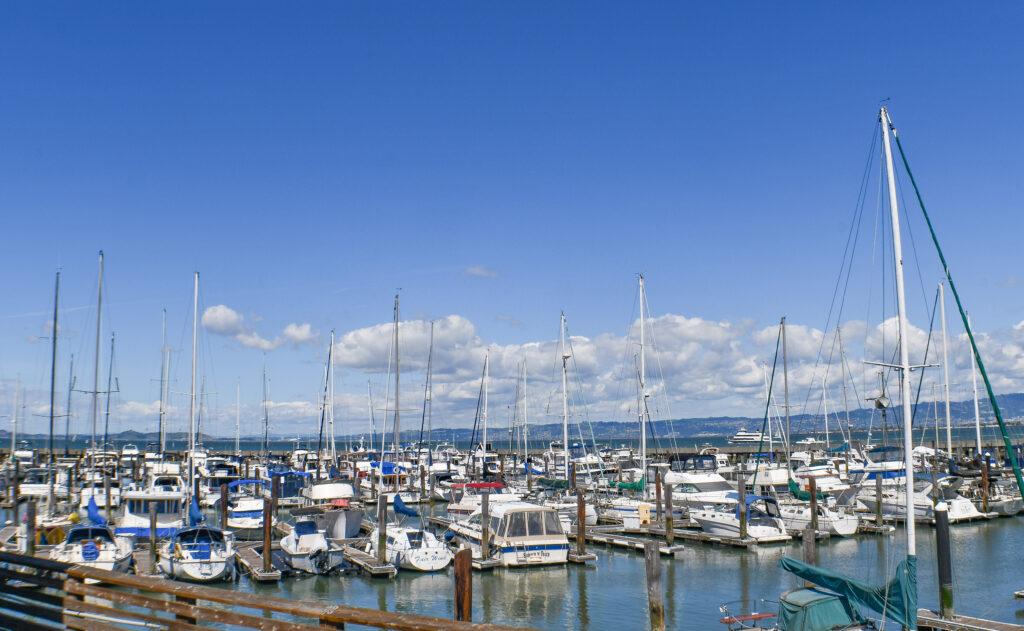 Boats at Fisherman's Wharf, San Francisco