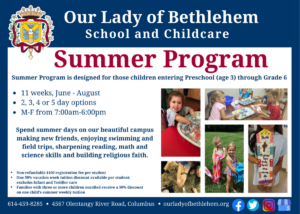 Summer Program Flyer