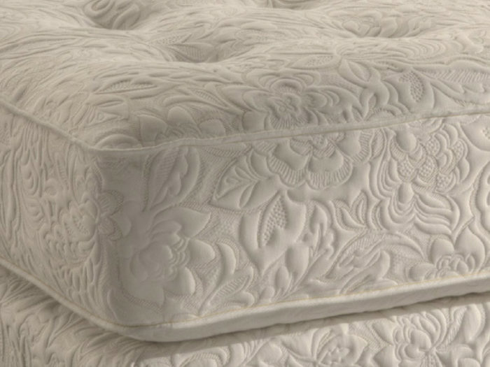 Bed of Roses all natural mattress close up view