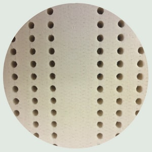 image of natural latex as part of natural materials