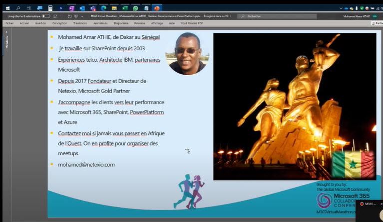 La vidéo de ma session sur : Microsoft 365 comment enrichir la gestion documentaire avec la PowerPlatform (Français)