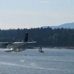 Float Plane Landing Vancouver BC