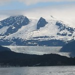 Oohs & camera clicks sound passing the Mendenhall and other glaciers on our spectacular cruise