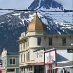 Built practically overnight as the gateway to the Klondike, Skagway is worth a stop for its Old West feel and White Pass train ride