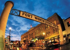 "Fort Worth Texas is a fun ""Western"" town. Photo from Fort Worth Convention and Visitors Bureau"
