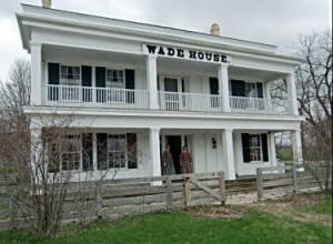 Costumed guides and cooks welcome visitors to Wisconsin's historic Wade House