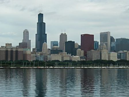Chicago's skyline is picture perfect from the Museum Campus