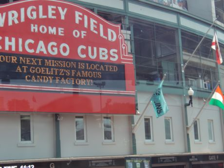 Wrigley Field is on the Film tour