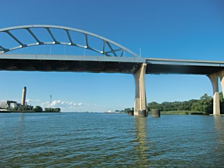 Cruise the Fox River to its mouth and see Green Bay from the water on the Foxy Lady.