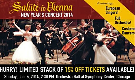 'Salute to Vienna' comes to Chicago's Symphony Center