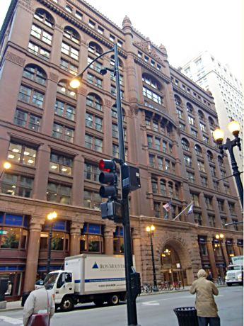 The Rookery in LaSalle Street's financial district is among Chicago's architectural gems.